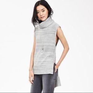 Nwt Banana Republic Hi-low Grey Sweater Small